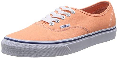 Vans Unisex AUTHENTIC Sneaker, Orange (Canteloupe/True Fri), 38.5 EU